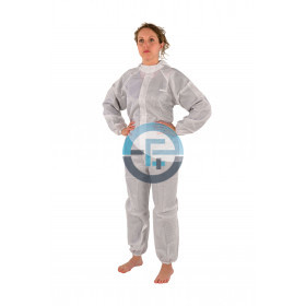 ESD white coverall