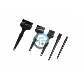 ESD Brushes with soft hairs